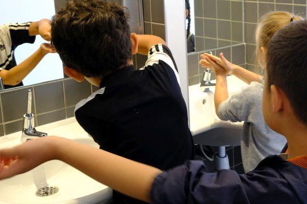Le lavage des mains peut expliquer la baisse du nombre de cas de gastroentérites cette année.