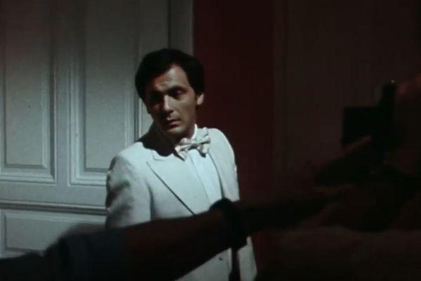 Jean-Pierre Bacri en tournage au Cap Martin en 1978
