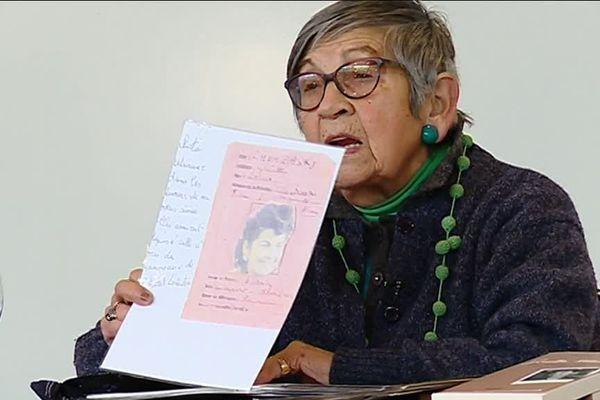 Arrêtée en janvier 1944, Ginette Kolinka a été déportée au camp d'Auschwitz, jusqu'à la libération