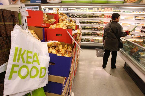 Boutique alimentation Ikéa