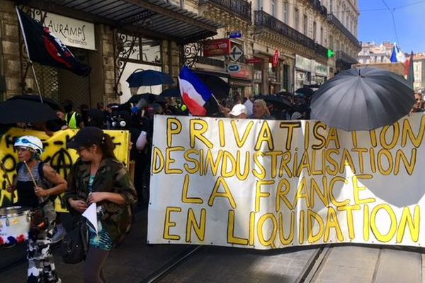 Les gilets jaunes se sont rassemblés à Montpellier, samedi 7 septembre, pour manifester de nouveau.