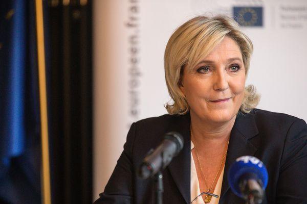 La présidente du Front National passera une partie de son dimanche dans le Puy-de-Dôme, en compagnie des sympathisants du parti
