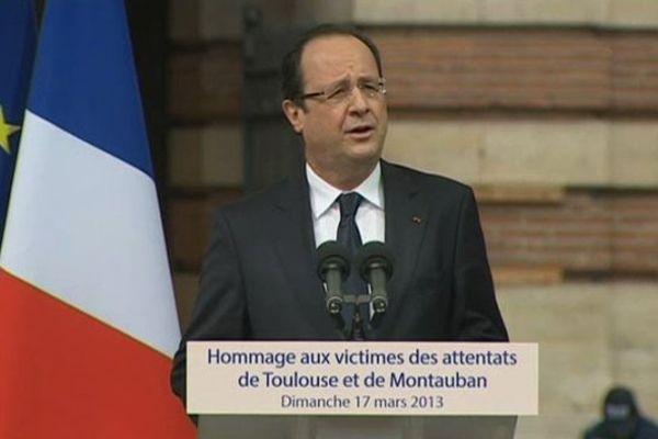 Mars 2012 François Hollande à Toulouse