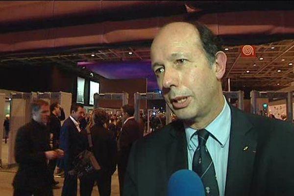 Louis Giscard d'Estaing maire de Chamalières (63) et vice-président de l'UDI au Congrès des Maires le 2 juin à Paris.