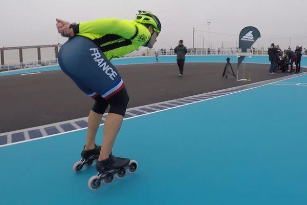 Les patineurs de l'équipe de France de roller vitesse ont choisi la piste de Saint-Pierre-lès-Elbeuf pour retrouver leurs sensations après la crise sanitaire.