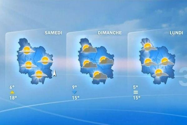 Les prévisions de Météo France des jours prochains