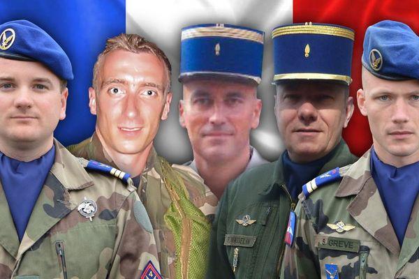 L'Armée de Terre a révélé l'identité et les portraits des victimes de l'accident d'hélicoptères survenu ce vendredi dans le Var.