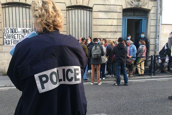 La police a procédé à l'évacuation du squat situé rue Camille Godard à Bordeaux ce jeudi 23 septembre.