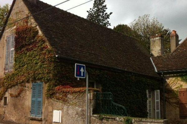 La maison de Jacques Vaude, 6 rue Paul Cazin à Autun, lieu où s'est déroulé le drame