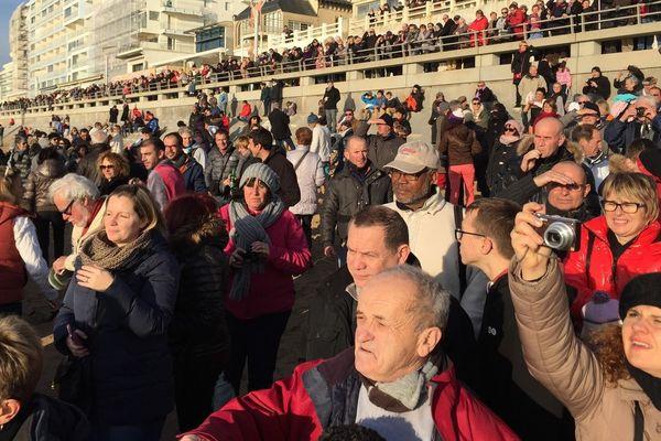 Les Sardines ont fait l'admiration du public bien emmitouflé