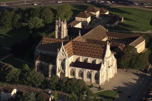 Le monastère de Brou, l'un des sites emblématique de la ville de Bourg-en-Bresse