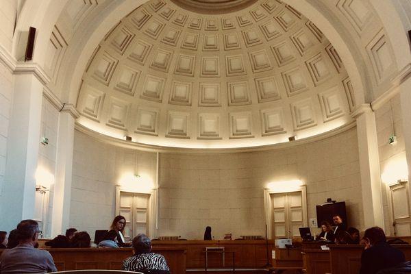 La salle d'audience des assises des Deux-Sèvres, novembre 2017