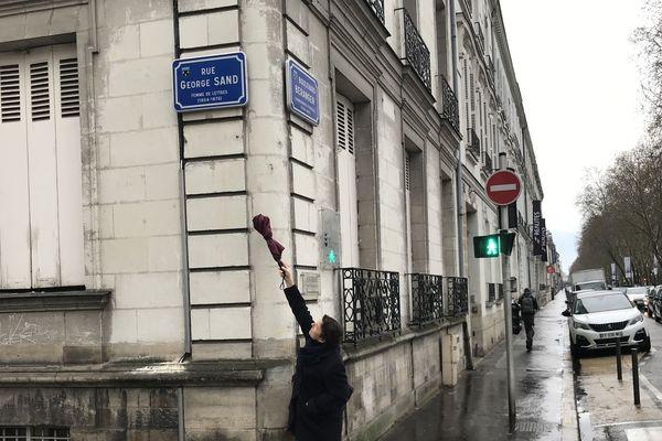 Dominique Mesmin, Osez Le Féminisme 37, déplore le peu de noms féminins attribués aux rues de la ville de Tours