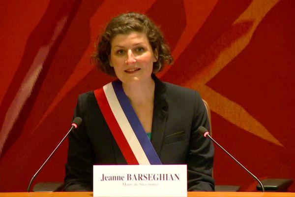 Jeanne Barseghian est maintenant la nouvelle maire de Strasbourg.