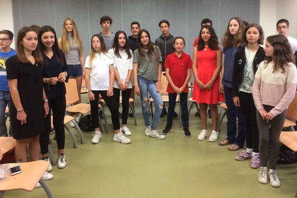 Le projet a réuni des élèves de la 6ème à la 3ème.