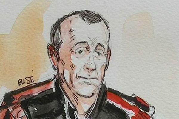 Antoine Brugère, président de la cour d'assises de Saône-et-Loire