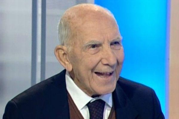 Stéphane Hessel - invité du 19/20 Languedoc-Roussillon en 2008.