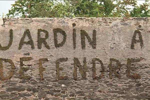 le collectif du jardin des ronces s'oppose au projet d'aménagement urbain dans le quartier Doulon