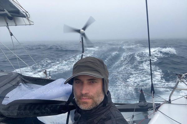 Le Vendée Globe 2020 prend fin ce vendredi pour Fabrice Amedeo.