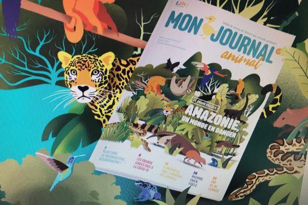 """L'accès dans les écoles à la revue """"Mon journal animal"""", rédigée par l'association L214, fait débat."""