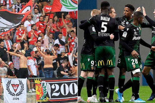 Valenciennes attend ce vendredi soir les leaders lensois (en noir et vert).