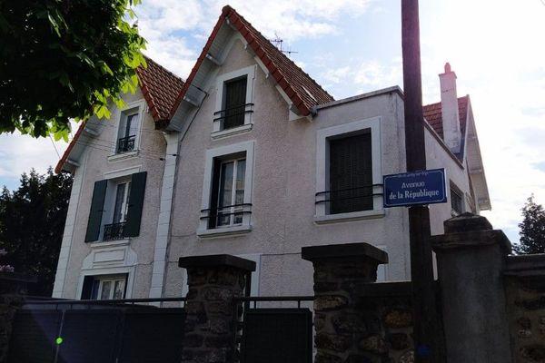 La maison où Christophe a grandi, avenue de la République à Juvisy-sur-Orge.