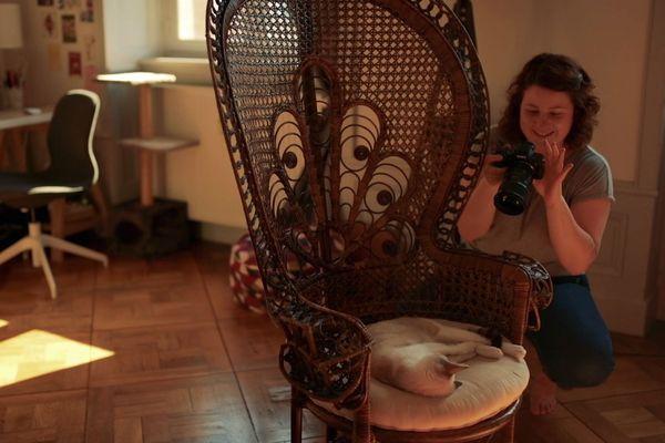 Episode 1 : Anaïs continue à photographier chez elle malgré le confinement