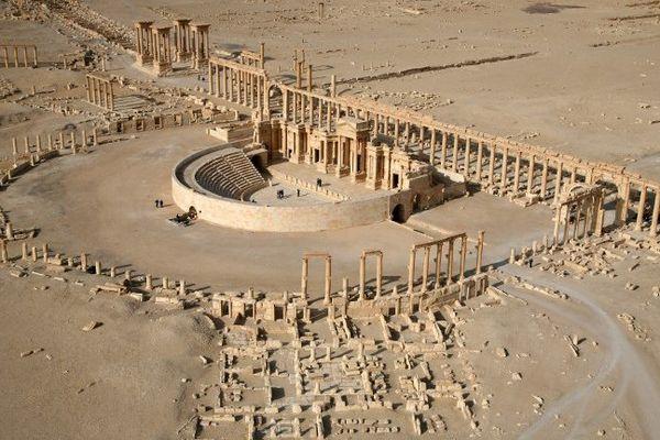 Panorama du site de Palmyre