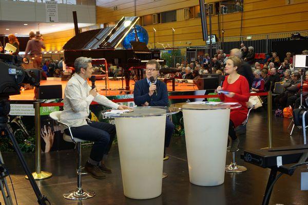René Martin, directeur artistique de la Folle Journée interviewé par Vincent Calcagni en 2015