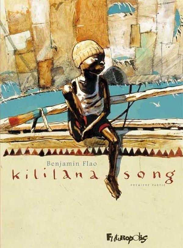 La couverture de l'album Kililana song de Benjamin Flao