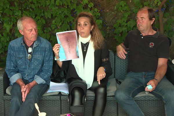 L'accident de Maryline s'est produit devant chez elle, à Bastia.
