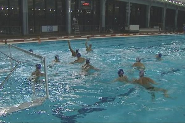 entrainement water-polo à Nice