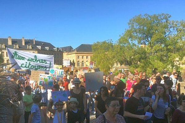 Marche pour le climat samedi 13 octobre à Nancy