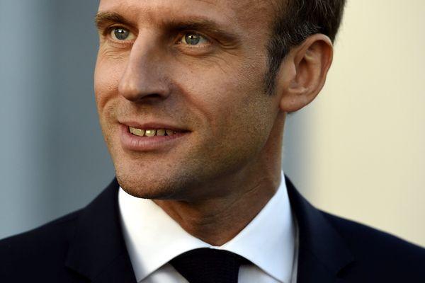 Emmanuel Macron, président de la République, en visite à Montpellier ce mardi 3 décembre 2019