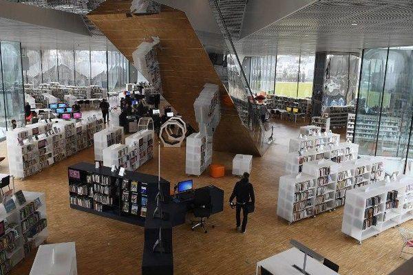 la bibliothèque Alexis de Tocqueville est ouverte au public depuis ce samedi 14 janvier