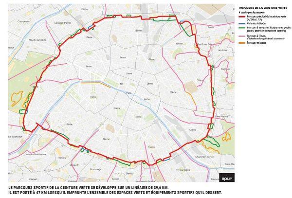 Pour les amateurs de musculation et de cardio, le parcours sportif autour de Paris devrait être accompagné de 17 agrès sportifs, dont 10 nouveaux à installer.