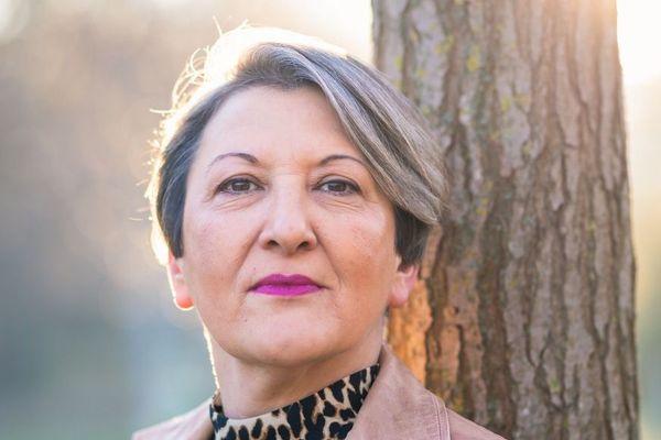 Claudine Cordani, pour la couverture de son livre.
