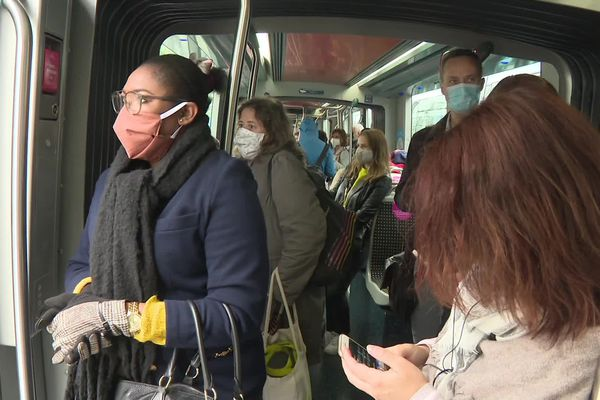 Tous les passagers du tramway de Bordeaux doivent porter un masque dans les rames et sur les quais
