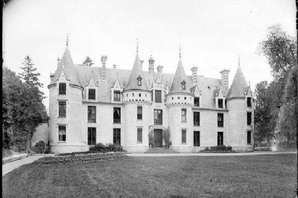 Le château de Cangé, à Saint-Avertin
