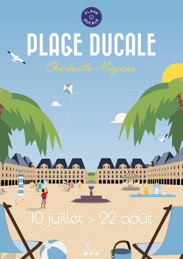 Un été aux couleurs du Sud, dans sa ville, c'est la promesse de plage Ducale