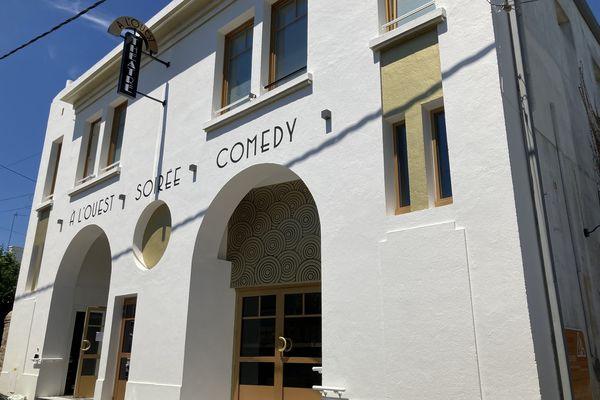 L'ancien cinéma les Arcades (fermé depuis 5 ans) à Auray se reconvertit en salle de théâtre dédié à l'humour