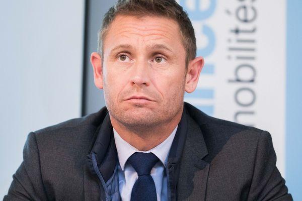 Stéphane Beaudet, maire d'Evry-Courcouronnes en novembre 2017.