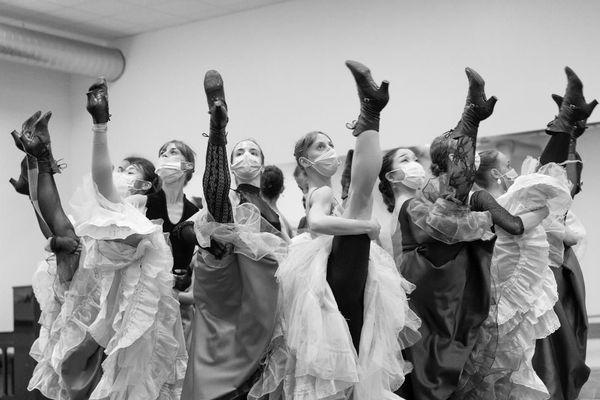Le ballet du Capitole en répétition.