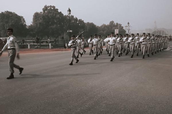 Le 35 e RI de Belfort à New Delhi