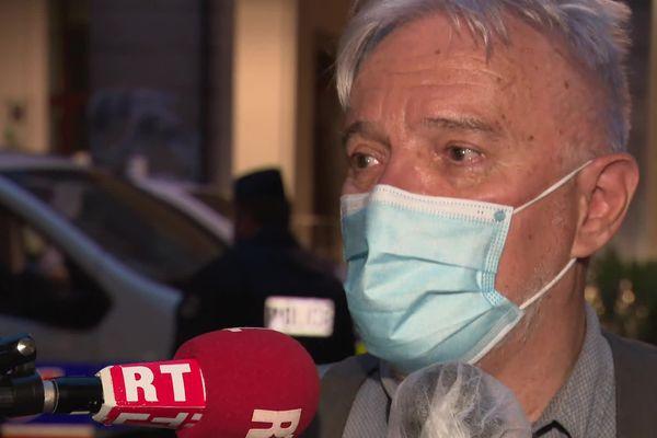 Didier, le père d'Arthur Noyer, le caporal de Bourges tué en avril 2017.