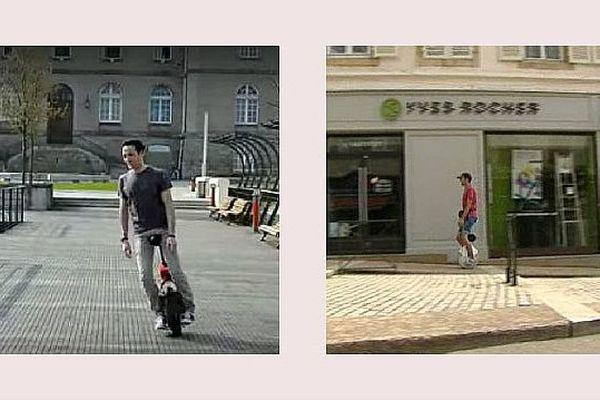 Le Steerpod est un monocycle électrique conçu en Saône-et-Loire.