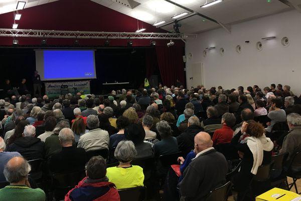 Une conférence débat autour de la problématique des bassines sur le bassin du Clain.