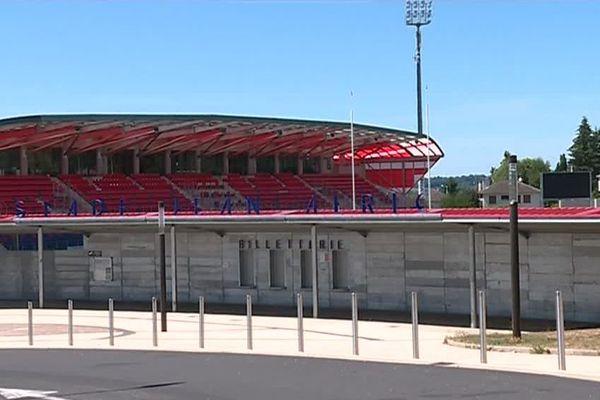 Le stade Jean Alric à Aurillac.