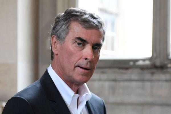 Jérôme Cahuzac lors de son procès en appel le 15 mai 2018 à Paris.
