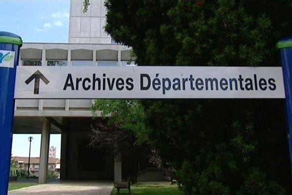 Les archives départementales de Saône-et-Loire